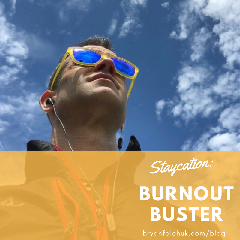 Read more about the article Burnout Recovery Tip: The Staycation