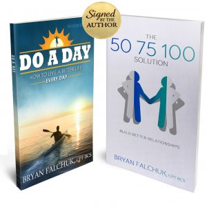 Signed Self-Empowerment Power Pack – Do a Day & The 50 75 100 Solution in Paperback